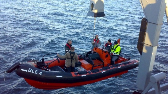 Improving Safety Standards for Workboat Launch and Recovery