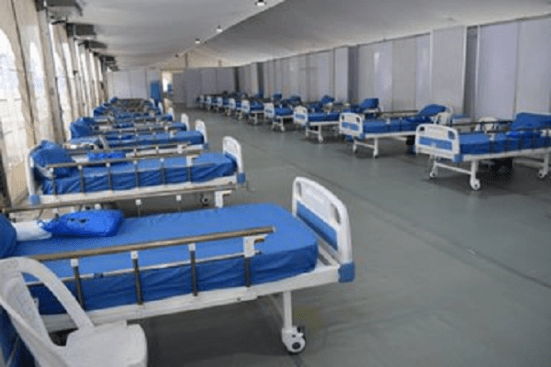 Navy Unveils 40 Bed space Isolation Centre in Lagos
