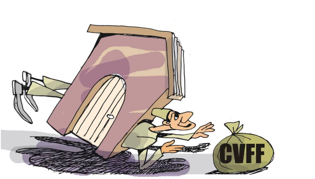 Nigerian maritime editorial cartoon on CVFF